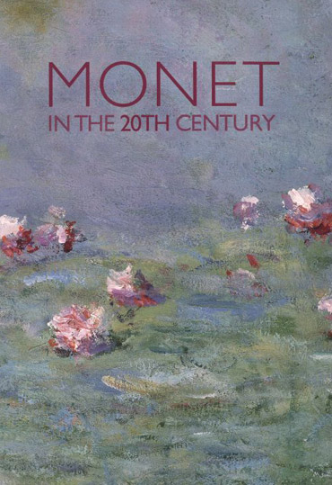 Monet in the 20th Century exhibition catalogue cover