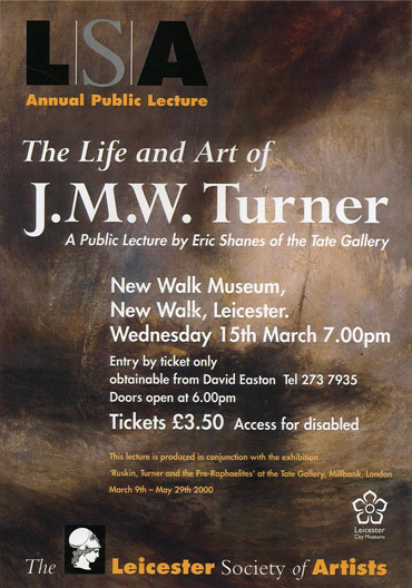 Life & Art of Turner poster
