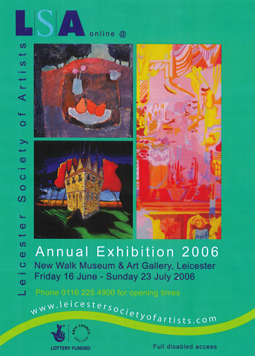 LSA Annual Exhibition 2006 poster