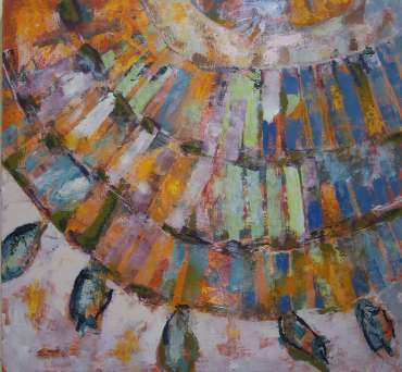 Thumbnail image of Lesley Brooks, 'Rays - Project 2006 - New Art Inspired By The Museum's Ancient Egyptian Collection