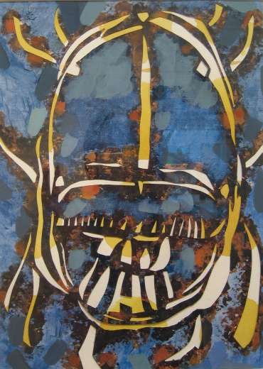 Thumbnail image of Lesley Brooks, 'Dung Beetle -Night' - Project 2006 - New Art Inspired By The Museum's Ancient Egyptian Collection