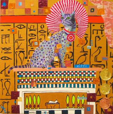 Thumbnail image of Mikki Longley, 'O Wondrous Cat' - Project 2006 - New Art Inspired By The Museum's Ancient Egyptian Collection
