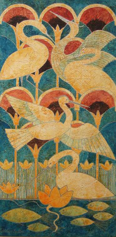 Thumbnail image of Shirley Easton, 'Rising Birds' - Project 2006 - New Art Inspired By The Museum's Ancient Egyptian Collection