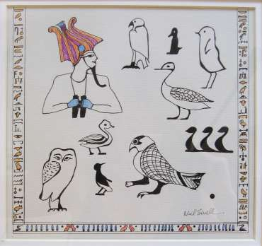 Thumbnail image of Neil Sivell - Project 2006 - New Art inspired by the Ancient Egyptian Collection
