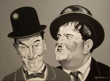 Thumbnail image of Peter Carter, 'Stan and Ollie' - Slapstick