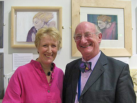 Photograph of Vivian Heffernan and Douglas Smith