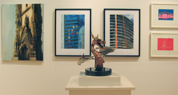 Living City exhibition photograph