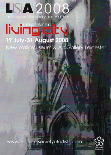 LSA Living City exhibition poster