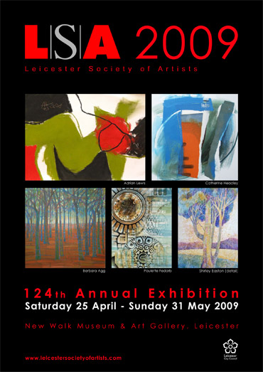 Poster for Annual Exhibition 2009
