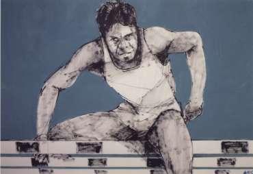 Thumbnail image of Denis Wills, Beijing 2008 - Art Of Sport