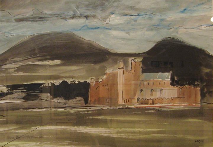 Dennis Wills, Melrose Abbey & the Eildon Hills