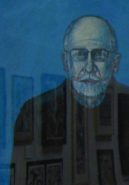 Dennis Wills, self portrait