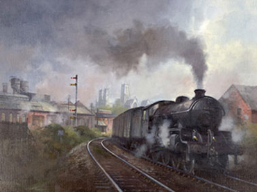David Weston, Steaming out of Lincoln