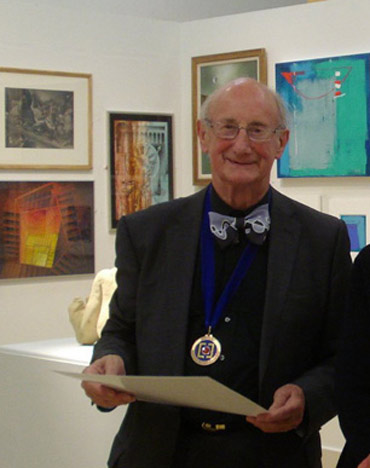 Douglas Smith at the 2012 Annual Exhibition preview