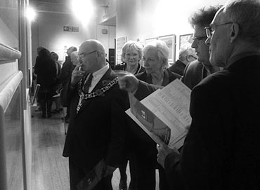 Thumbnail image of The Lord Mayor looks at the Annual Exhibition - Annual Exhibition 2014