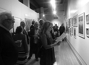 Thumbnail image of Visitors view the Annual Exhibition 2014 - Annual Exhibition 2014