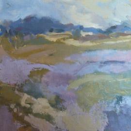 Painting by Hazel Crabtree