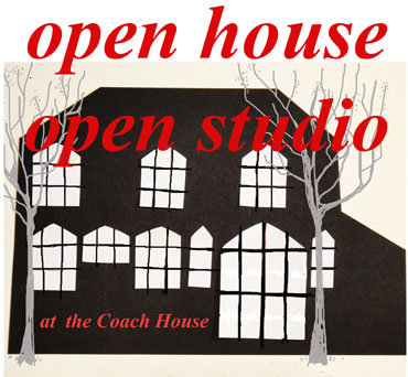 Open house open studio logo