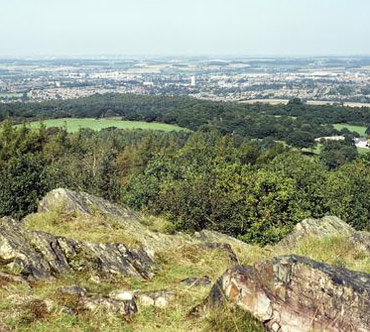 Photograph of Beacon Hill