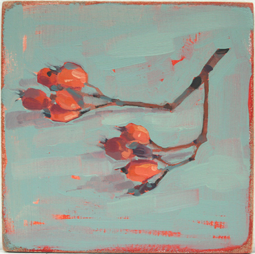 Winter Berries In Oils With Jane French
