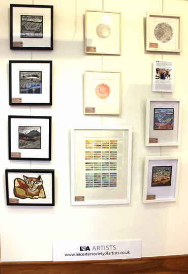 Thumbnail image of Gallery wall - LSA Featured Artist: John Barradell