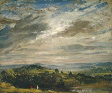 paintng by John Constable