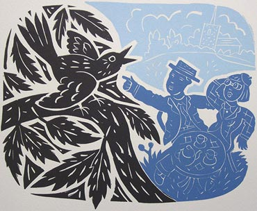 Introduction image for Linocut Day Course With Peter Clayton