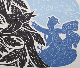 Linocut Day Course With Peter Clayton