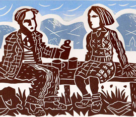 Linocut Course With Peter Clayton