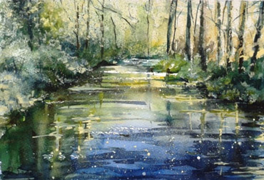 watercolour painting by Rita Sadler