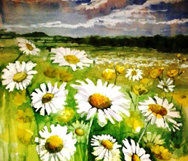 Summer Watercolour Workshops With Rita Sadler