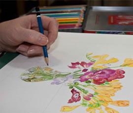 Beginners Watercolour With Rita Sadler