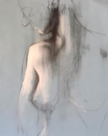 Life drawing by Scott Bridgwood