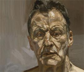 Life Drawing In The Style Of Lucien Freud