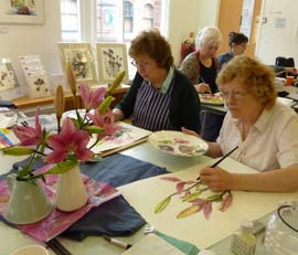 Introduction image for Vivienne Cawson 2-Day Watercolour Workshops