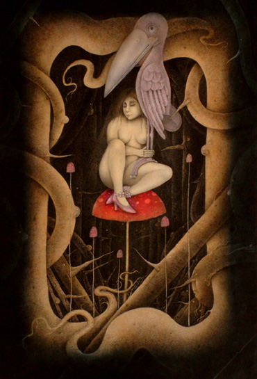 Thumbnail image of Wayne Anderson - Charles Stanley Gold Prize, 'Creatures of the Night', mixed media - Annual Exhibition 2016 - Prizes