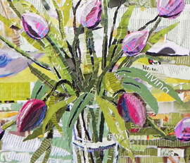 Ripped Paper Workshops - Danielle Vaughan