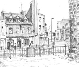 SKETCH LEICESTER - With Leicester Sketch Club