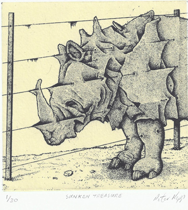 Thumbnail image of Peter Rapp - SMALL PRINT INTERNATIONAL