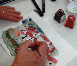 DRAWING & PAINTING CLASS FOR IMPROVERS - Rita Sadler
