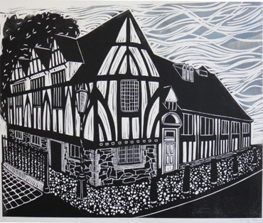 Linocut by Phil Redford