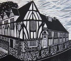 LEICESTER LINOCUTS BY SARAH KIRBY