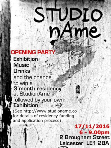 Studioname poster