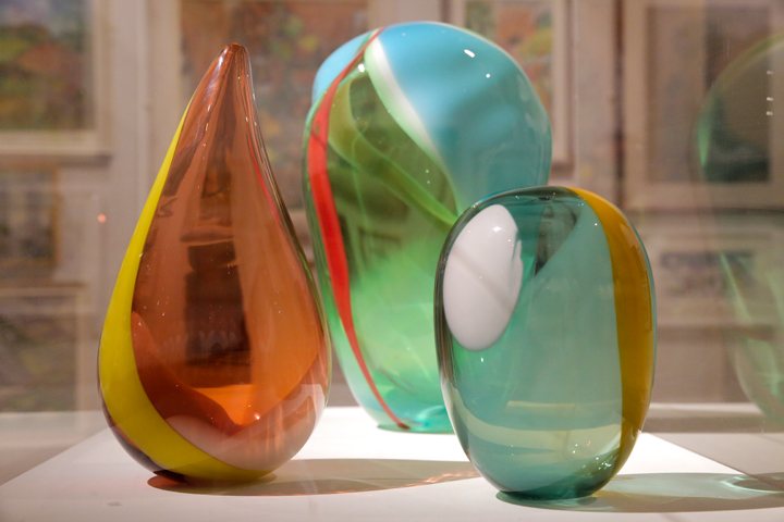 blown glass by Alice Heaton