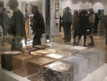 Thumbnail image of Sarah Charlton, 'Cube Collection', multi-media - LSA Student Award 2017 Winner - LSA Annual Exhibition 2017
