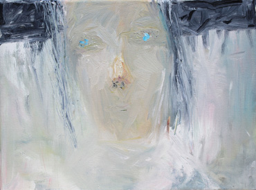 Thumbnail image of Dave Pigeon, 'Girl in Constant Fog', oil & pencil - Charles Stanley Silver Prize - LSA Annual Exhibition 2017
