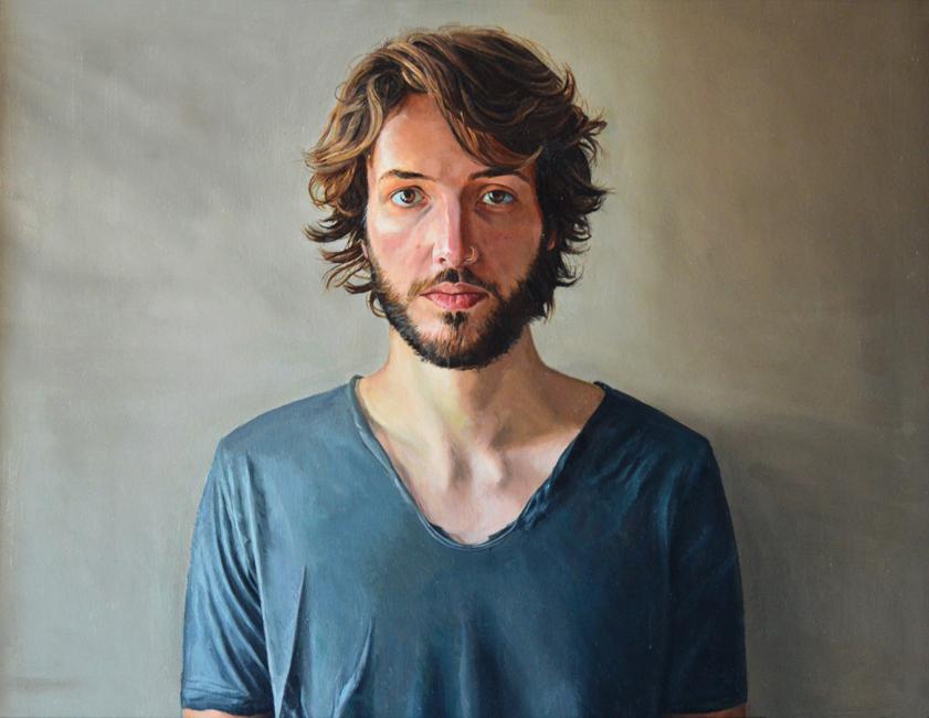 Painting by Geoffrey Beasley