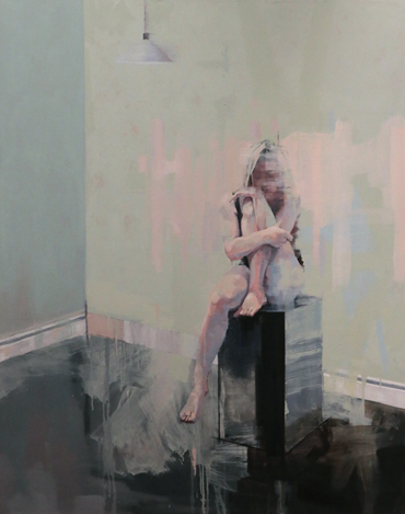 Thumbnail image of Scott Bridgwood, 'Seated Figure', oil - LSA Henton Ellis Prize - LSA Annual Exhibition 2017 Prize Winners