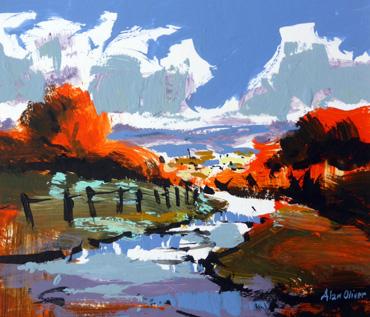 Alan Oliver - Rutland Open Studio
