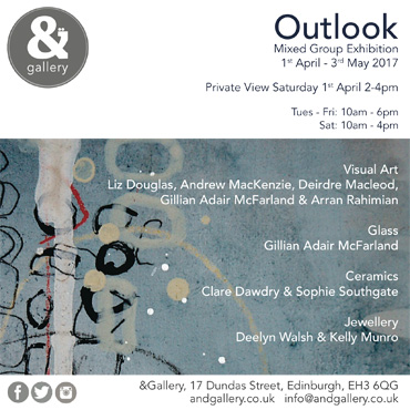 & Gallery exhibition poster